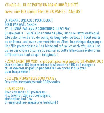 sommaire n°175 - juillet 2013
