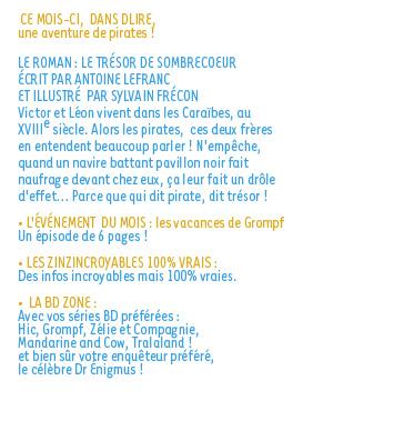 Sommaire n°175 - Août 2013