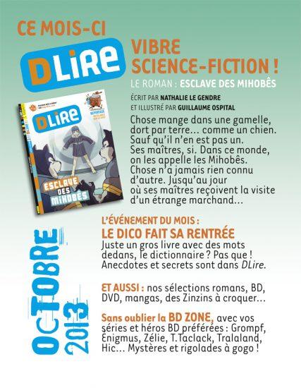 Sommaire n°179 - octobre 2013