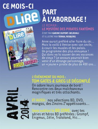 Sommaire n°184 - avril 2014