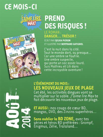 Sommaire n°188 - Août 2014