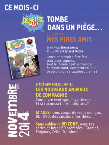 sommaire n°191 - novembre 2014