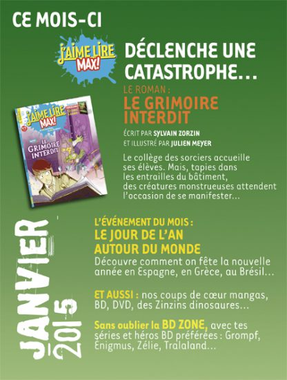 Sommaire n°193 - janvier 2015