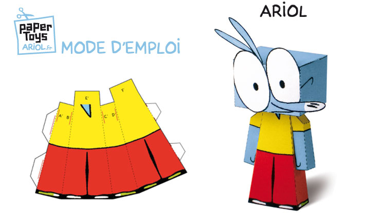 Papertoys Ariol