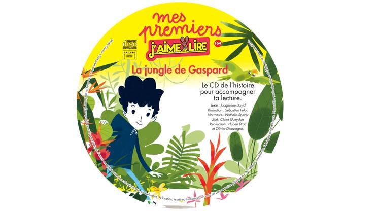 Le CD du magazine Mes premiers J'aime lire du mois de juin 2016