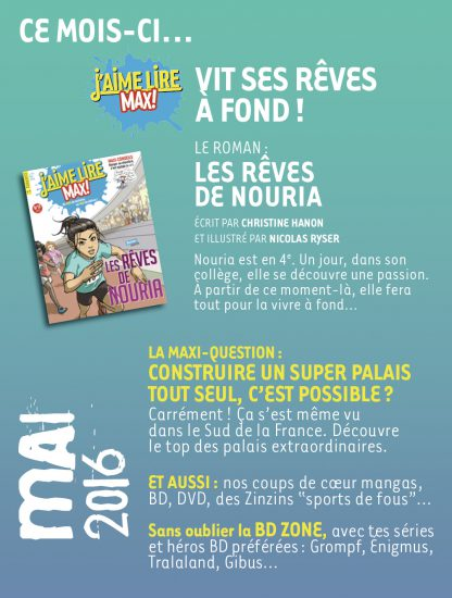 Sommaire n°209 - mai 2016