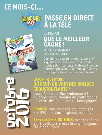 Sommaire n°214 - octobre 2016