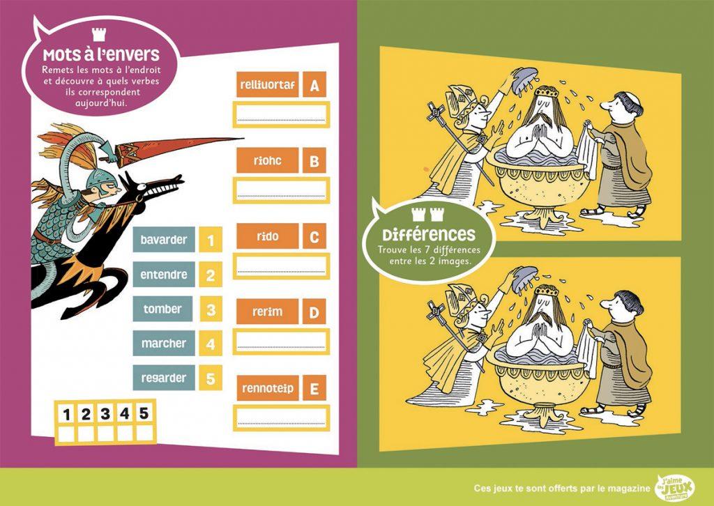 Téléchargez 2 jeux extraits du magazine J'aime les jeux Aventure