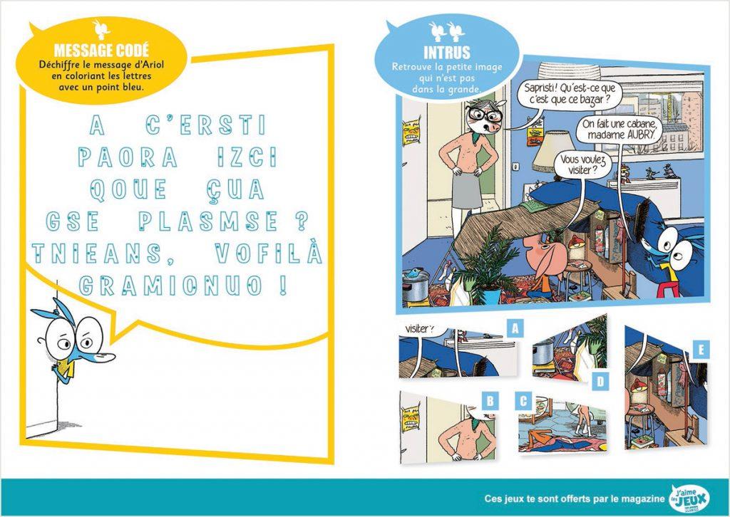 Téléchargez 2 jeux extraits du magazine J'aime les jeux Héros