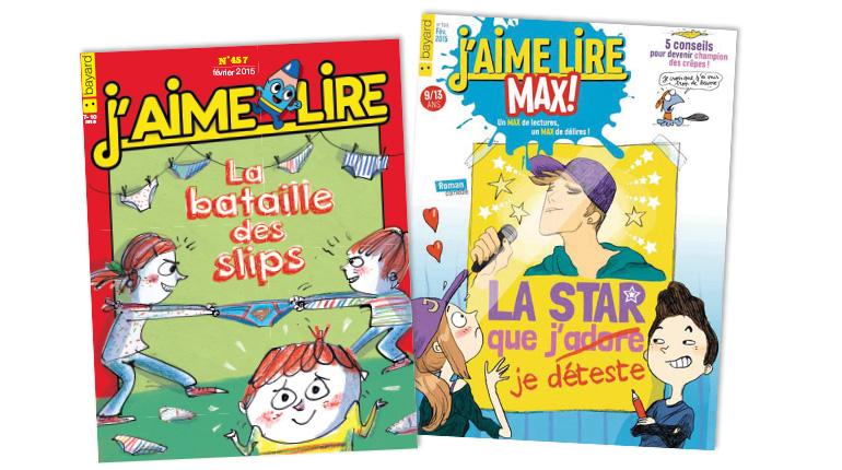 """Coup de cœur pour """"La bataille des slips"""" et """"La star que je déteste"""""""