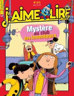 n°473 - Mystère au club des inventeurs