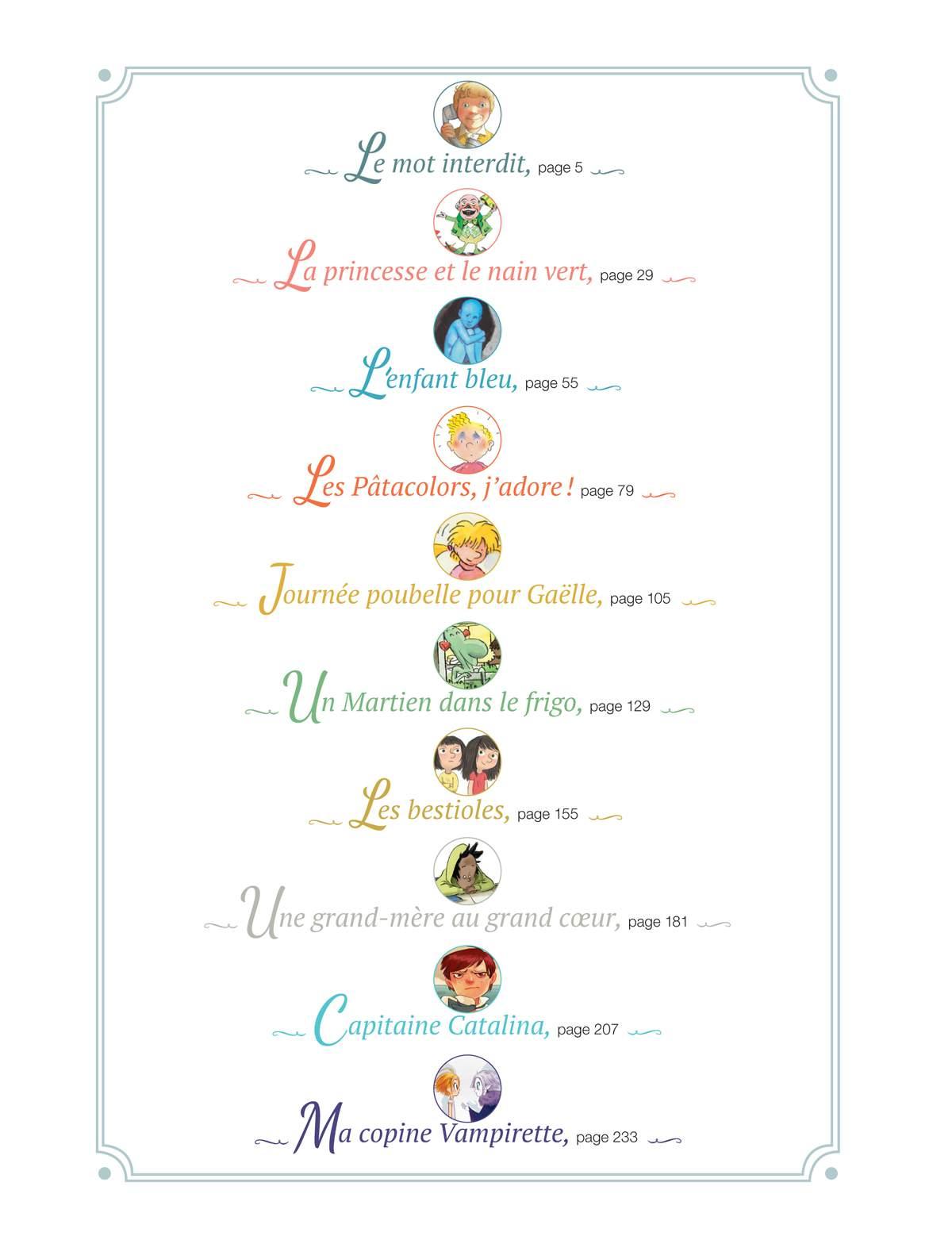 """Sommaire du numéro collector : """"10 romans J'aime lire inoubliables"""""""