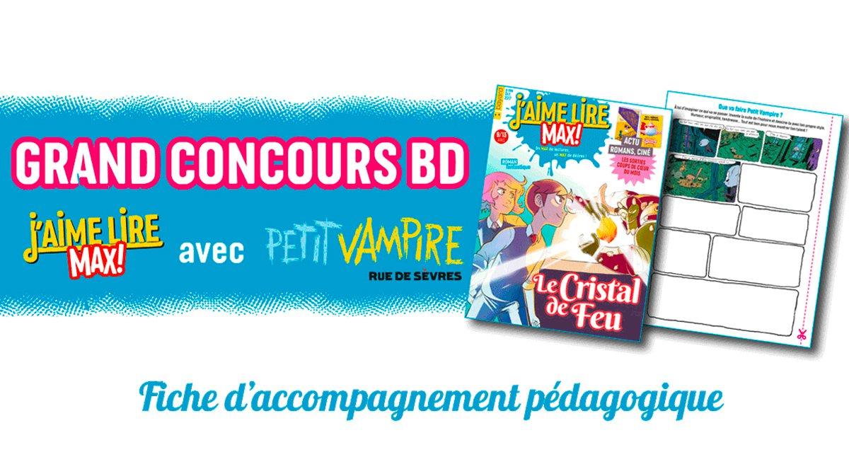 Concours de BD de J'aime lire Max : un projet d'écriture pour le cycle3