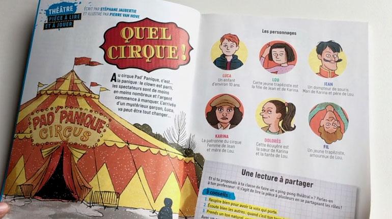 J'aime lire Max se met au théâtre : Quel cirque !