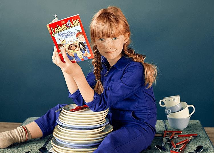 Rentrée J'aime lire : j'aime pas faire la vaisselle mais J'aime lire