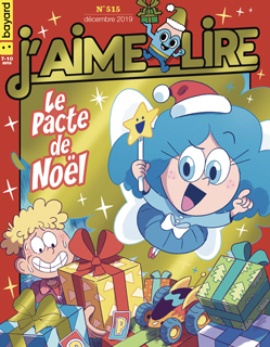 Couverture du magazine J'aime lire, n° 515, décembre 2019 - Le Pacte de Noël