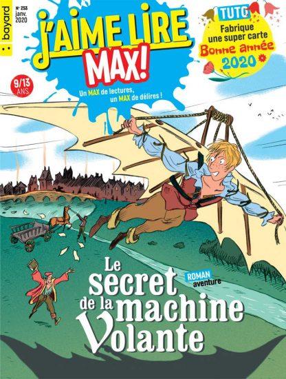 Couverture du magazine J'aime lire Max n°253, janvier 2020