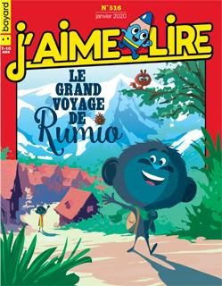 Couverture du magazine J'aime lire, n° 516, janvier 2020 - Le grand voyage de Rumio