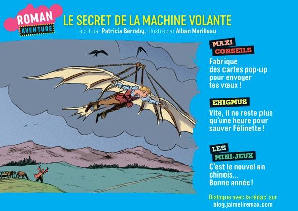 Sommaire du magazine J'aime lire Max n°253, janvier 2020