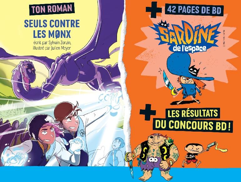 Sommaire du magazine J'aime lire Max n°254, février 2020