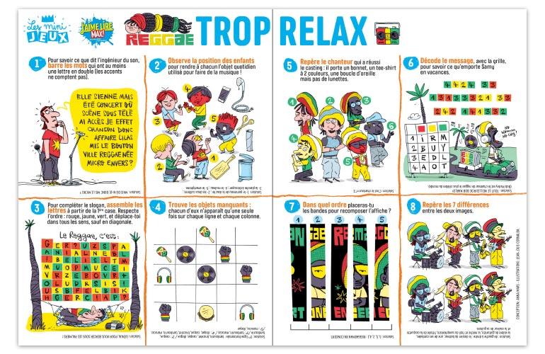 """Trop relax"", J'aime lire Max n°248. Conception : Anna Mars. Illustrations : Jean-Louis Cornalba."