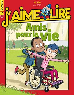 Couverture du magazine J'aime lire, n° 520, mai 2020 - Amis pour la vie
