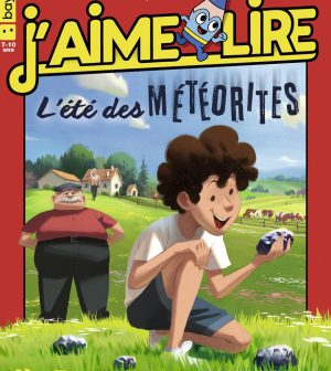 Couverture du magazine J'aime lire, n° 522, juillet 2020 - L'été des météorites