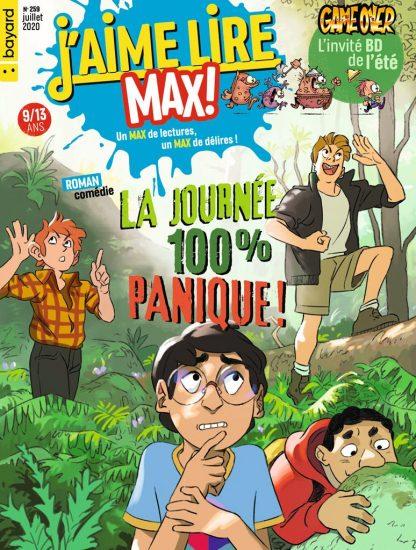 Couverture du magazine J'aime Lire Max n°259, juillet 2020