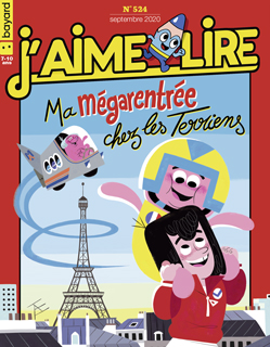 Couverture du magazine J'aime lire, n° 524, septembre 2020 - Ma mégarentrée chez les Terriens