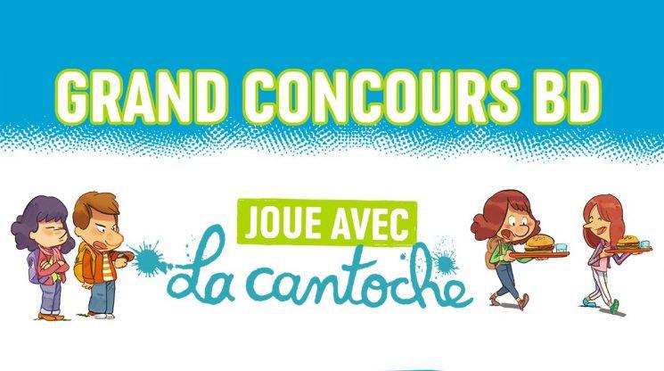 "Concours J'aime lire Max: invente la suite de la BD ""La cantoche"" !"
