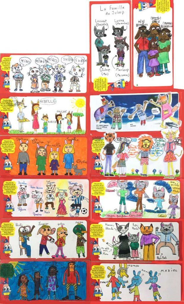 Dessins gagnants du Grand concours de dessin J'aime lire / Bioviva, organisé pour les 20 ans d'Ariol