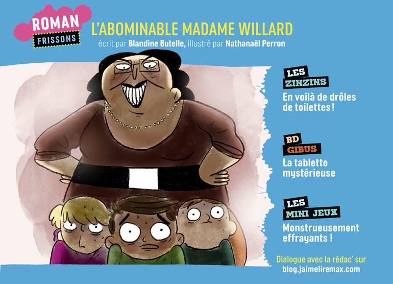 Sommaire du magazine J'aime Lire Max n°263, novembre 2020