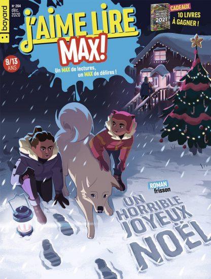 Couverture du magazine J'aime Lire Max n°264, décembre 2020