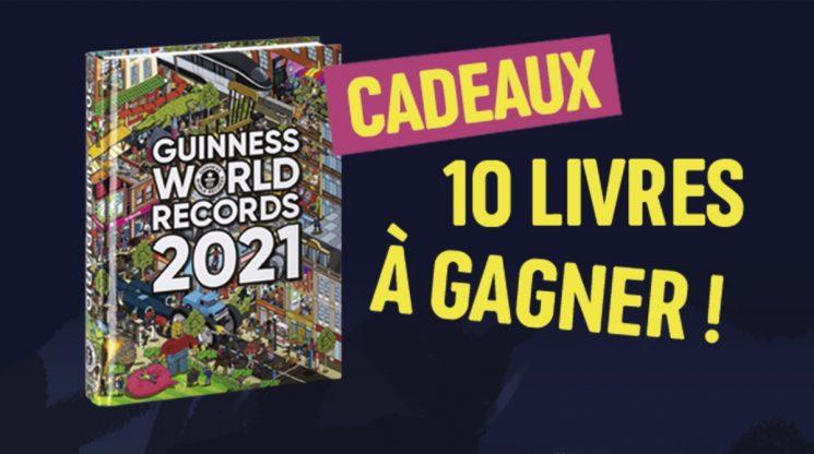 Concours Guinness World Records 2021 - 10 livres à gagner