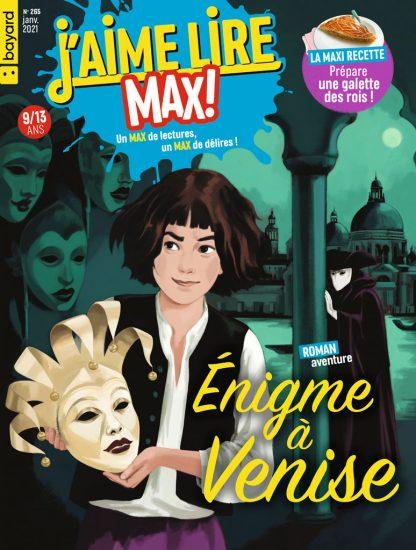 Couverture du magazine J'aime Lire Max n°265, janvier 2021
