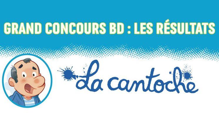 """Les résultats du concours J'aime lire Max : invente la suite de la BD """"La cantoche"""" !"""