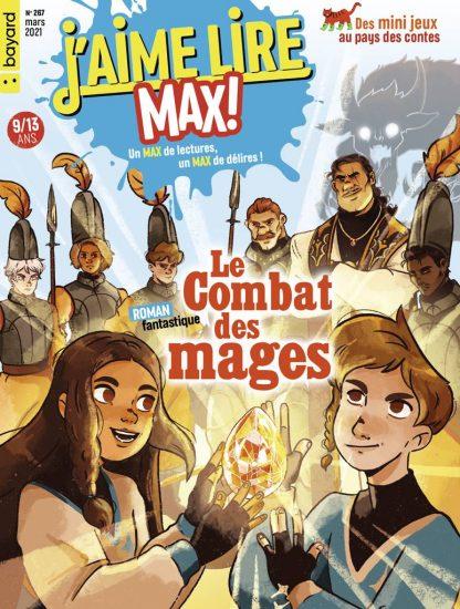 Couverture du magazine J'aime Lire Max n°267, mars 2021