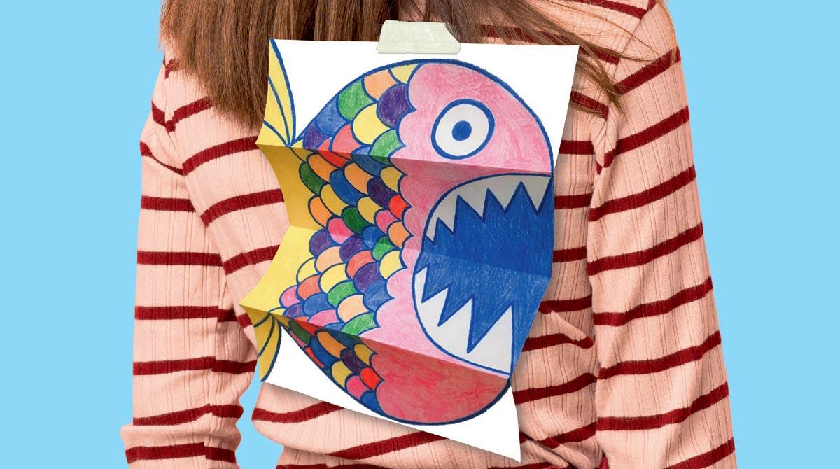 © Adobe Stock. Fabrique ton poisson d'avril.