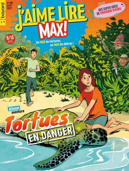 Couverture du magazine J'aime Lire Max n°268, avril 2021