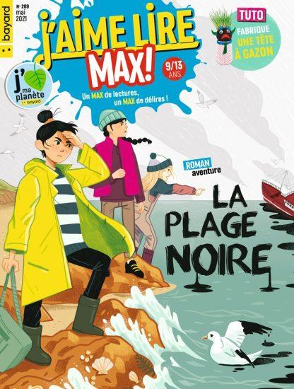 Couverture du magazine J'aime Lire Max n°269, mai 2021
