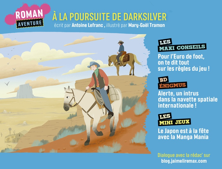 Sommaire du magazine J'aime Lire Max n°271, juillet 2021