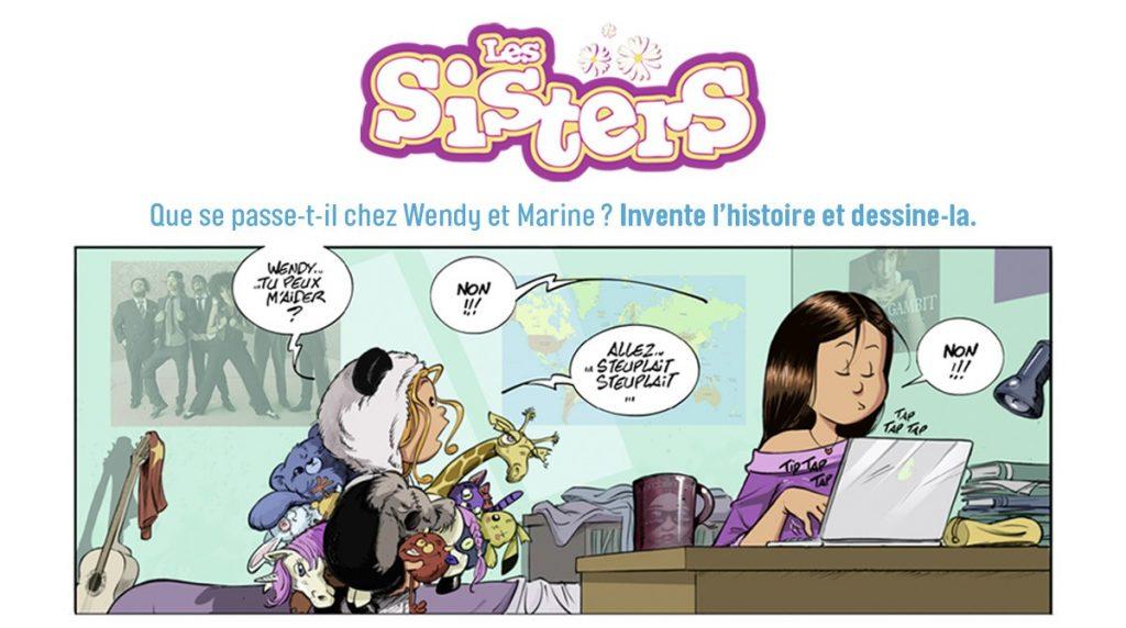 Grand concours BD 2021-2022 J'aime lire Max avec Les Sisters - 100 prix à gagner !